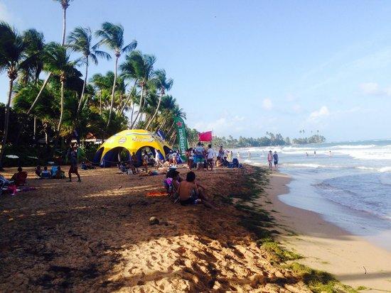 Park Royal Puerto Rico at Club Cala: Nearby beach