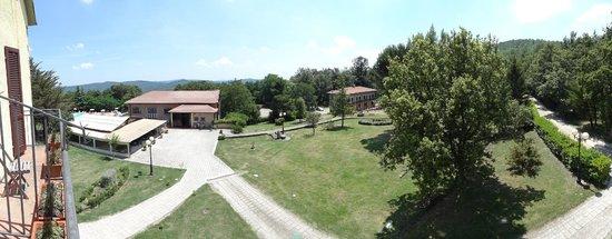 Hotel Residence Sant'Uberto : Vista