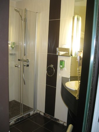 Best Western Plus Monopole Métropole : shower stall