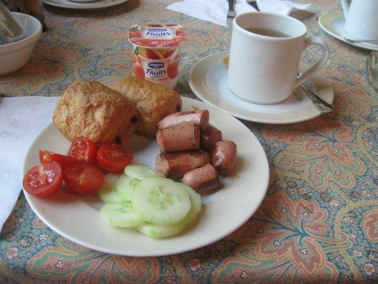 Best Western Plus Monopole Métropole : complimentary breakfast