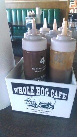 Whole Hog Cafe: Sauce