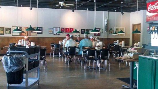 Whole Hog Cafe: The boys