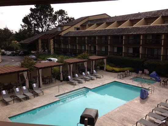 Hilton Garden Inn Monterey: View from our room