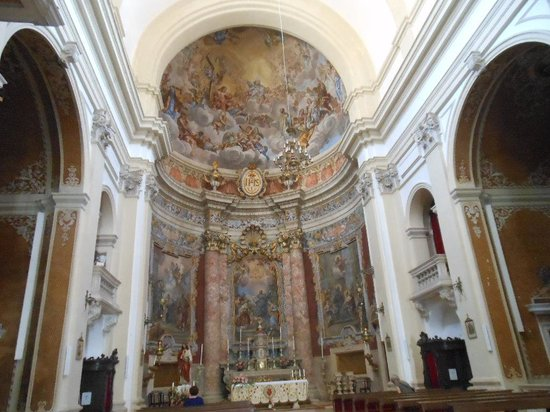 Church of St. Ignatius of Loyola: Interior da Igreja