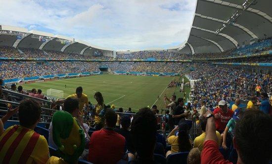 Arena das Dunas : Uruguay X Italia