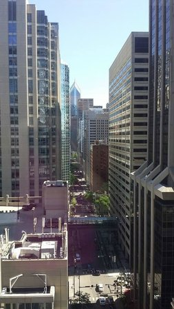 Cambria Hotel & Suites Chicago Magnificent Mile: The View from 19th floor The St Claire Suite