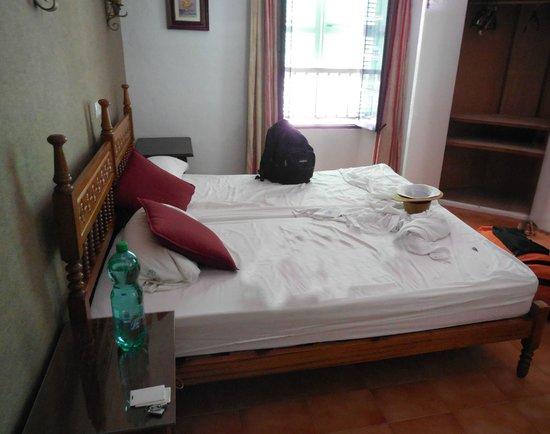 Hostal Cas Bombu: Die Betten