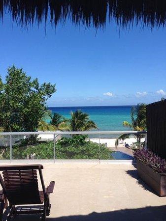 Le Reve Hotel & Spa : Terraza de Ensueño!!