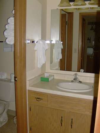 Waterbury Inn : Bathroom in Two Bedroom Suite