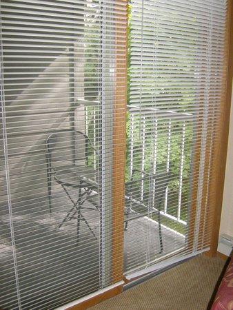 Waterbury Inn: Balcony of Two Bedroom Suite