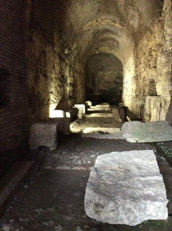 Through Eternity - Day Tour: The underground was so cool.  Can't believe I was there.