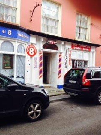 Don & Barry's Historic Stroll in Old Kinsale: Kinsale Barbershop