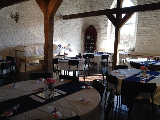 St Patrick's Museum: All set up for a wedding shower.