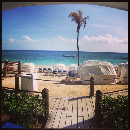 Beaches Ocho Rios Resort & Golf Club: View from our beach walkout room! Amazing!!