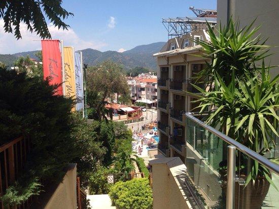 Cettia Apart Hotel: View from grand Cettia:)