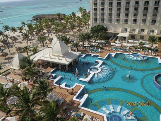 Hotel Riu Palace Aruba: Junior Suite Partial Ocean View