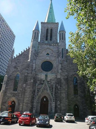 St. Patrick's Basilica : exterior front