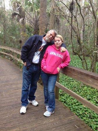 Highlands Hammock State Park : boardwalk