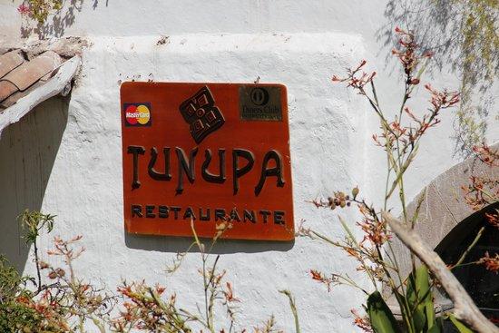Tunupa Valle Sagrado: entrada