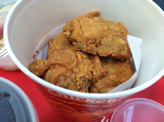 Jollibee: chicken joy....