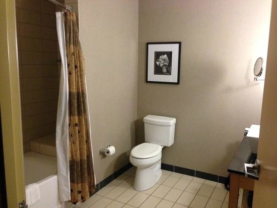 Cambria Hotel & Suites: Larger Suite Bathroom