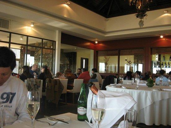 Saurus Restaurant: Interior del Restaurante