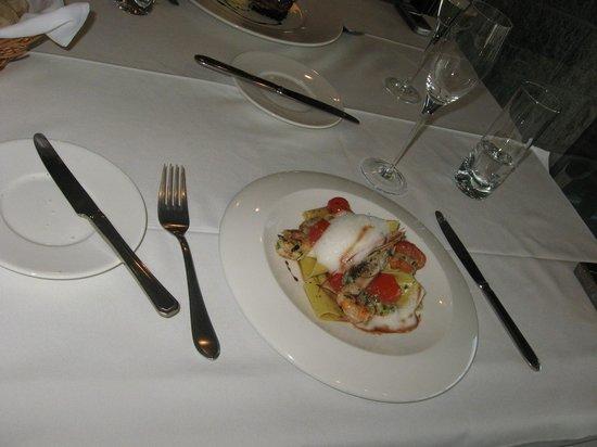 Saurus Restaurant: Papardelle con frutos de mar