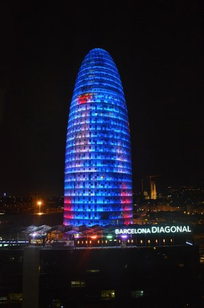 Novotel Barcelona City : View from my Room
