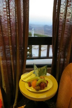 Petra Marriott Hotel : Bowl of fruit-thank you!