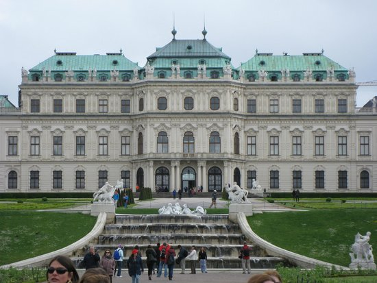 Belved re picture of belvedere palace museum vienna for Tripadvisor vienna