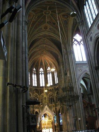 Votivkirche: Vista interna
