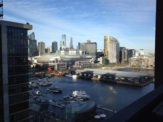 The Sebel Residences Melbourne Docklands: View from room in the Nolan tower