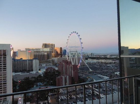Bally's Las Vegas : Vista do quarto