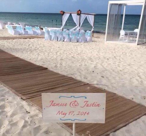 Beloved Playa Mujeres: Beach Wedding Ceremony