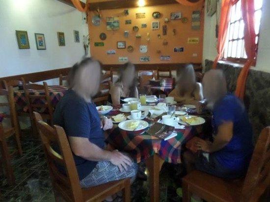Pimampiro Hosteria : El desayuno