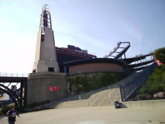 Gillette Stadium: view of the stadium
