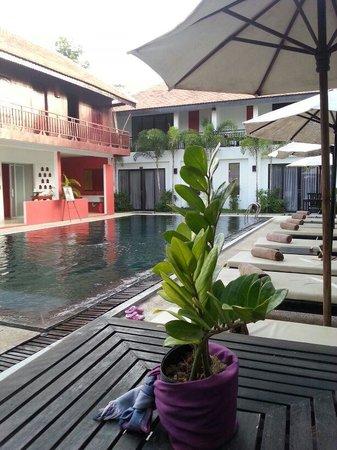 Suorkear Boutique Hotel & Spa: pool view