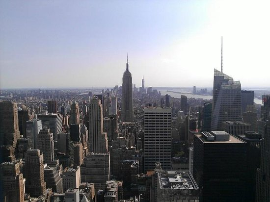 Top of the Rock Observation Deck: View south