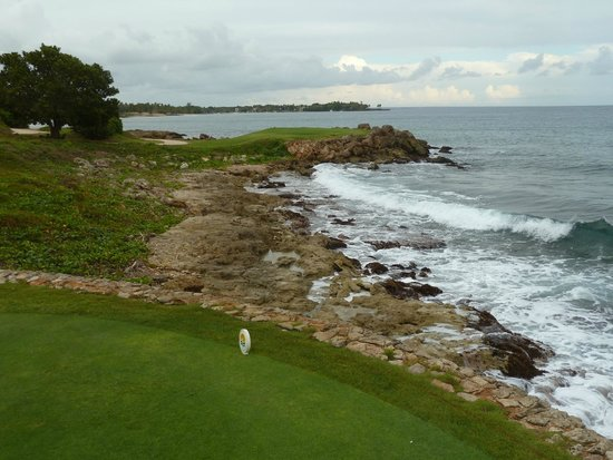 "Casa de Campo: part of the gold course ""tooth of the dog'"