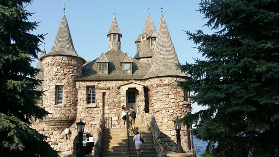 Boldt Castle and Yacht House : Boldt Castle ... power house