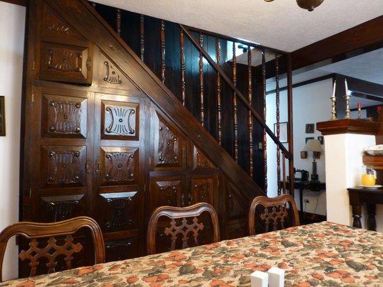 Hotel Casa Ovalle: Dining Room