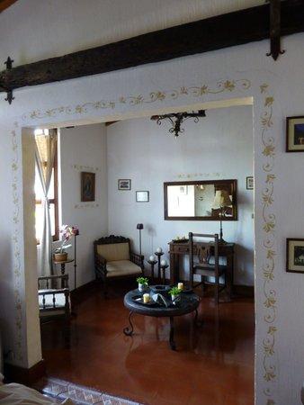 Hotel Casa Ovalle: San Juan Sitting Area