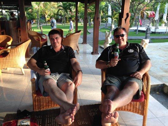 Adi Assri Beach Resort & Spa Pemuteran : cleansing ale after work