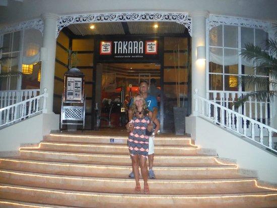 Luxury Bahia Principe Esmeralda Don Pablo Collection : excelente comida