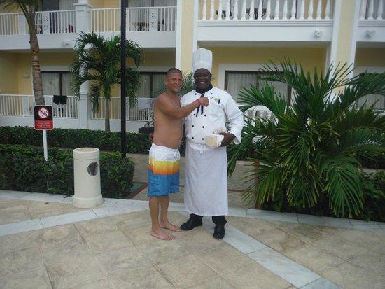 Luxury Bahia Principe Esmeralda: el super chef julio