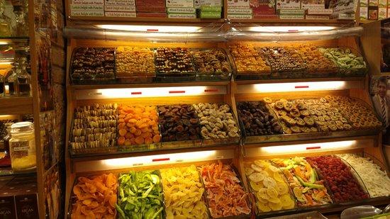 Spice Bazaar: Frutas desidratadas