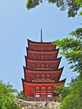 Miyajima: Tahoto pagoda