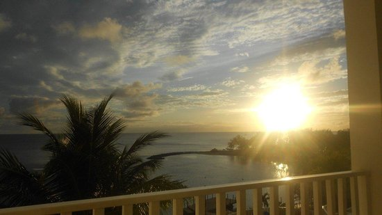 Windjammer Landing Villa Beach Resort: coucher de soleil