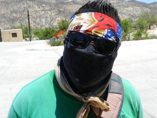 Cactus ATV Tours : Tour-Ninja Alberto!