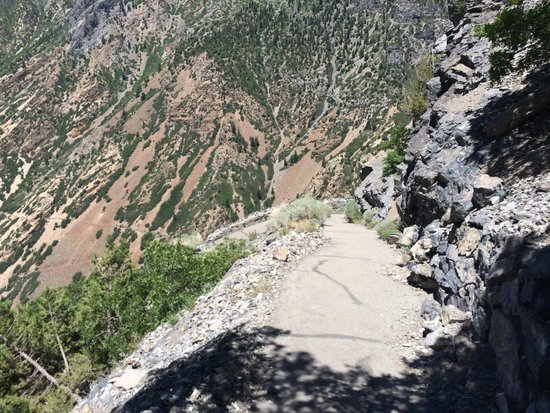 Timpanogos Cave National Monument: On the way down